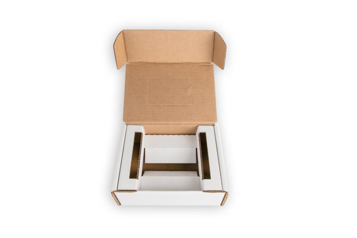Die Cut Box with Insert